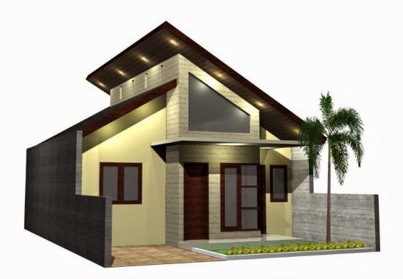Koleksi Desain Atap Rumah Gaya Miring