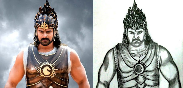 PENCIL DRAWING - Baahubali 2