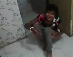 Golpiza a Niña