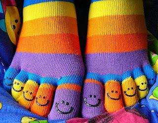 носки со смайлами