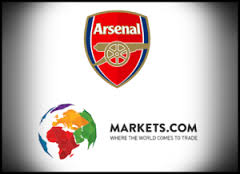 Markets.com sponsor of Arsenal