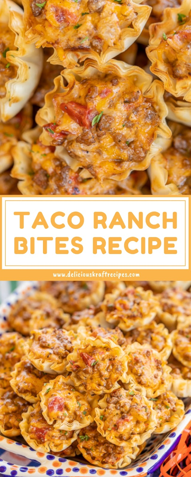 TACO RANCH BITES RECIPE