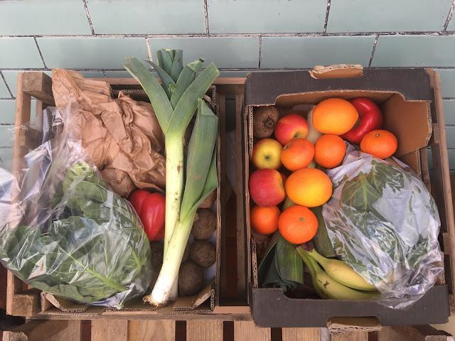 organic veg boxes