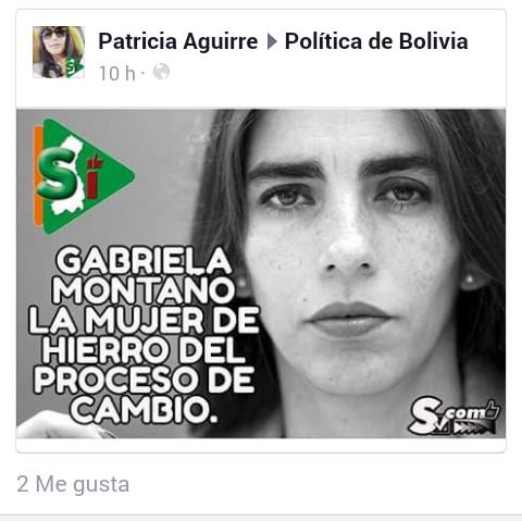 Gabriela Montaño la mujer de hierro del proceso de cambio