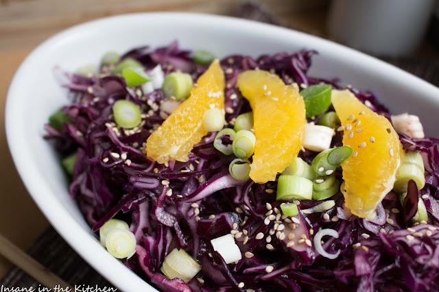 Rotkohlsalat, Salate