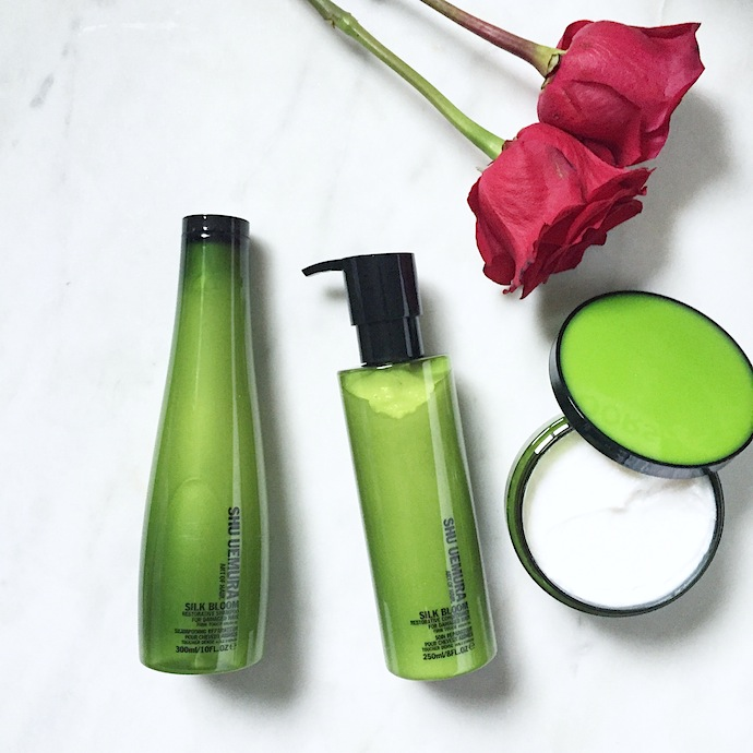 Shu Uemura Art of Hair Silk Bloom Restorative Collection: A quick review