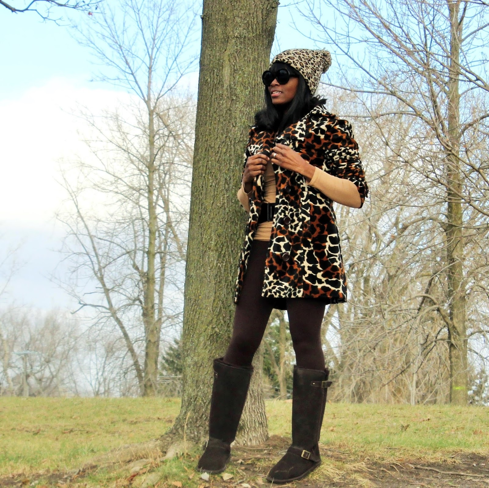 BLACK FRIDAY INSPIRED MY OUTFIT FEATURING BEARPAW JOHANNA WINTER BOOTS