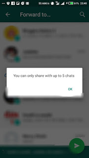 WhatsApp limits Number Of Times You Can forward Messages