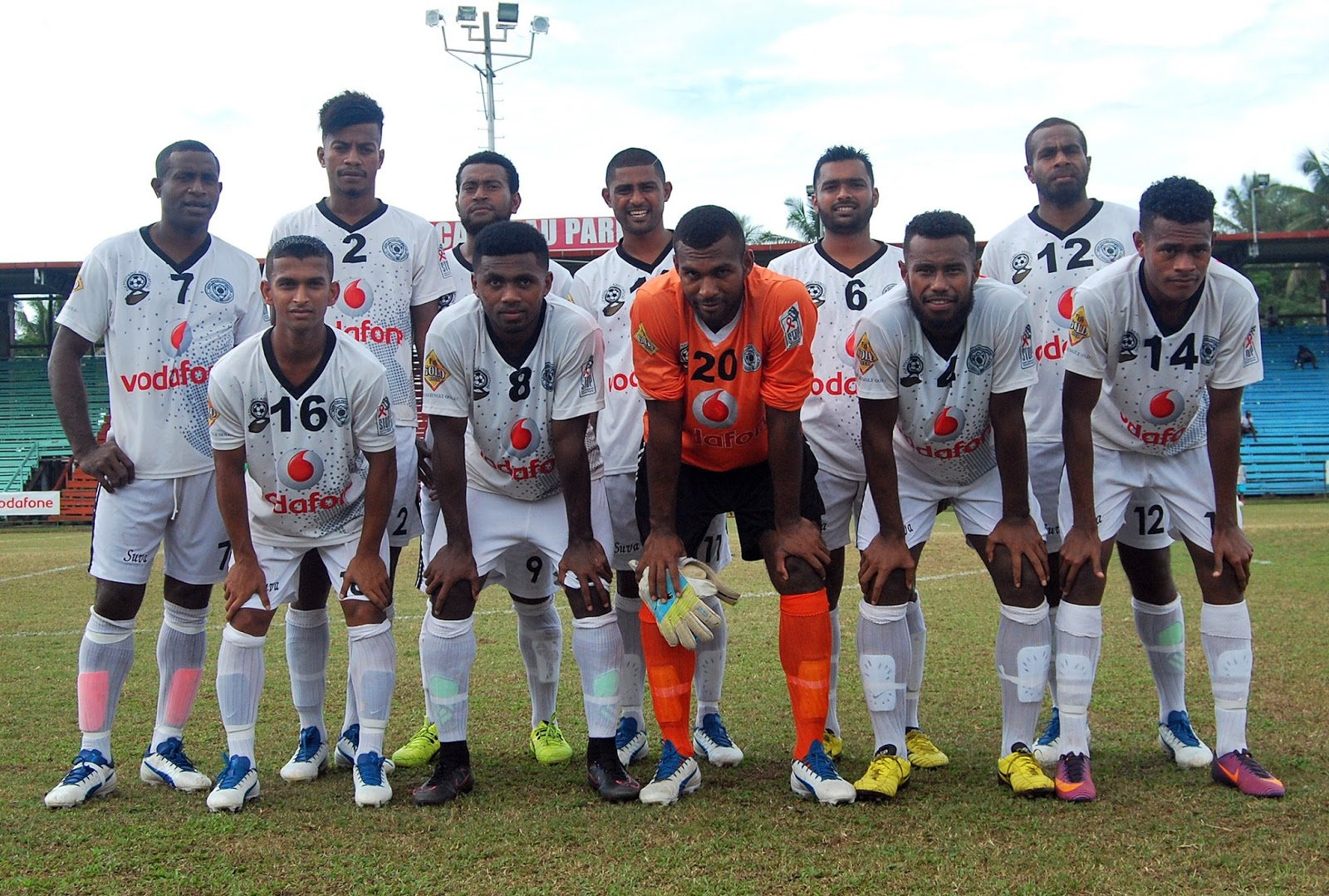 world football badges news fiji  vodafone premier league