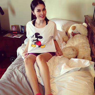 Siap Tidurin Sandra Dewi