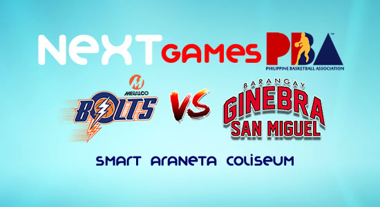 List of PBA Game(s) Friday October 20, 2017 @ Smart Araneta Coliseum