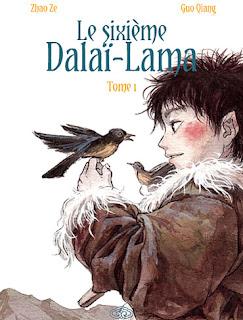 Le sixième Dalaï-Lama - tome 1 aux éditions Fei