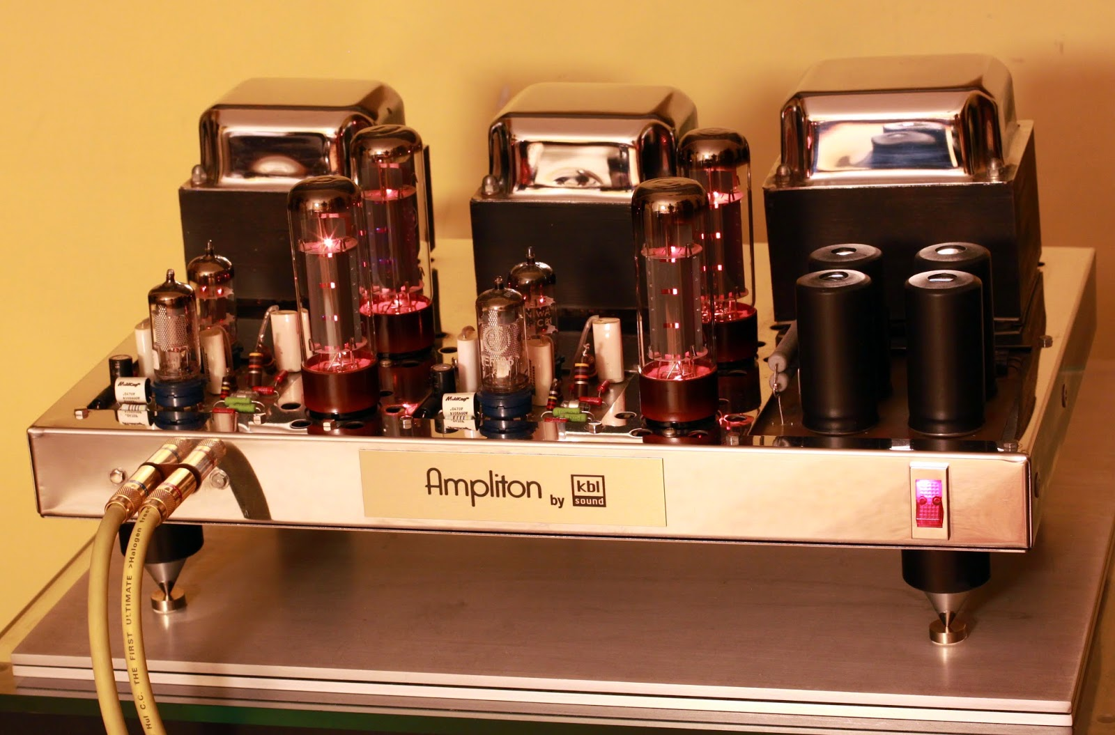 Ampliton Jadis KBL sound tube power amplifier