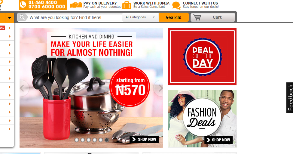 Jumia nigeria online shopping cheap deals and discount sites for Good cheap websites for shopping