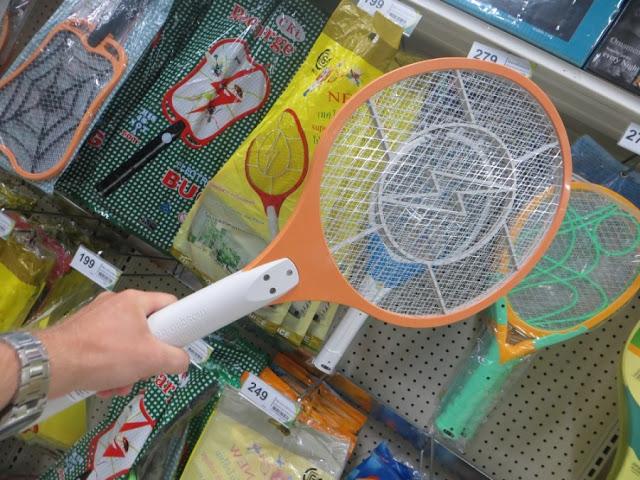 Электро-ракетка от комаров