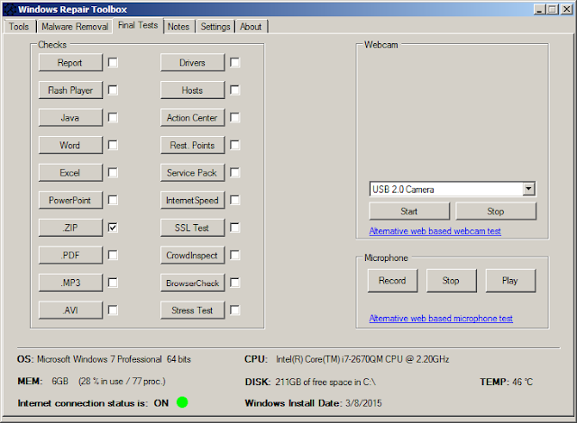 حل جميع مشاكل الويندوز 7 و 8 و8.1 و 10 من خلال برنامج واحد يجمع بداخله كل البرامج
