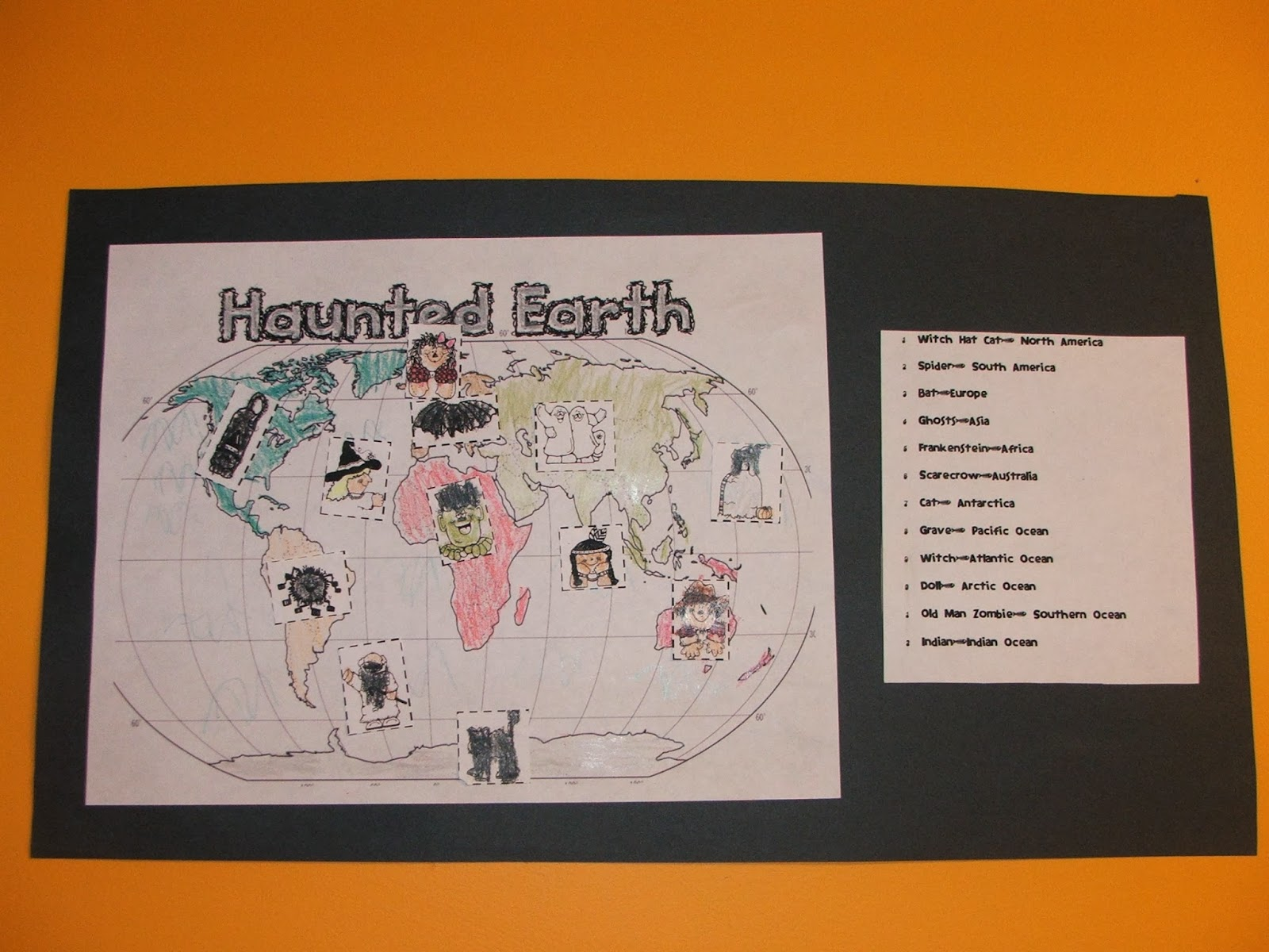 Highland Heritage Homeschool Halloween And Learning The Continents