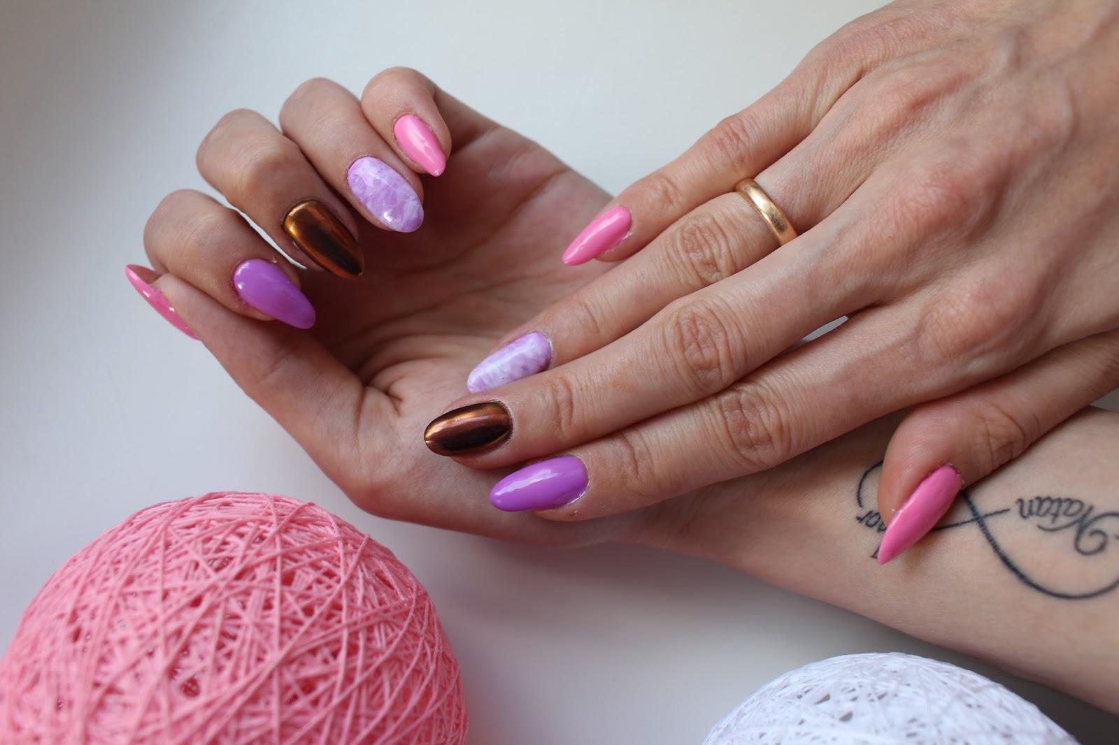 Manicure Hybrydowy Efekt Kameleona Cosmetics At Hand