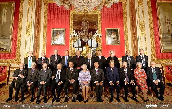 Order Of Merit Reception At Windsor Castle With The Queen