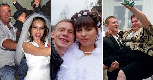 Фото деревенских свадеб, моментально отбивающие желание идти под венец!