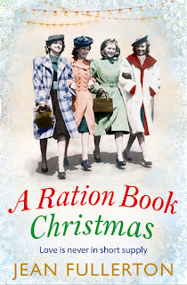 A Ration Book Christmas by Jean Fullerton cover