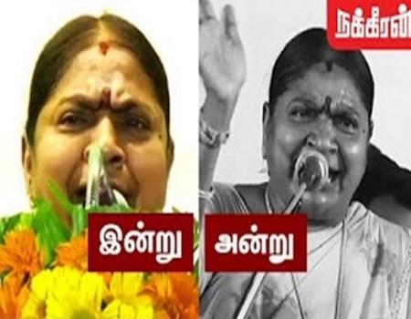 Valarmathi speech againt TTV Dinakaran | AIADMK removes Sasikala