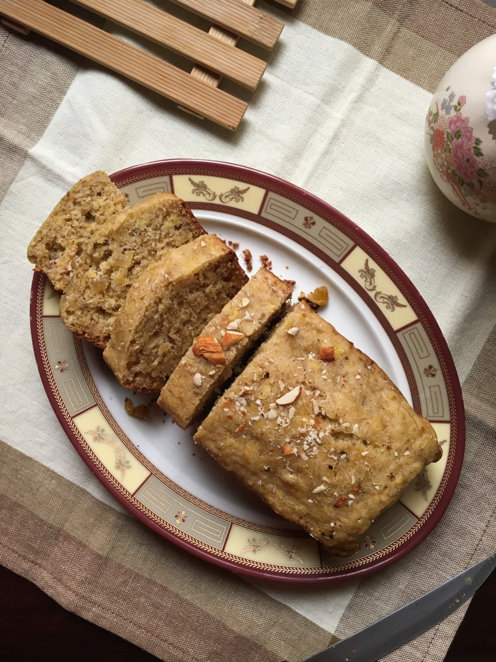 Aniseed Ripe Plantain Quick Bread