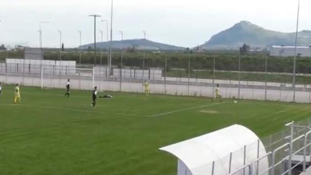 Fair-play για πολλά βραβεία στον αγώνα της ΑΕΚ Άργους με τον Ατρόμητο Κρανιδίου (βίντεο)