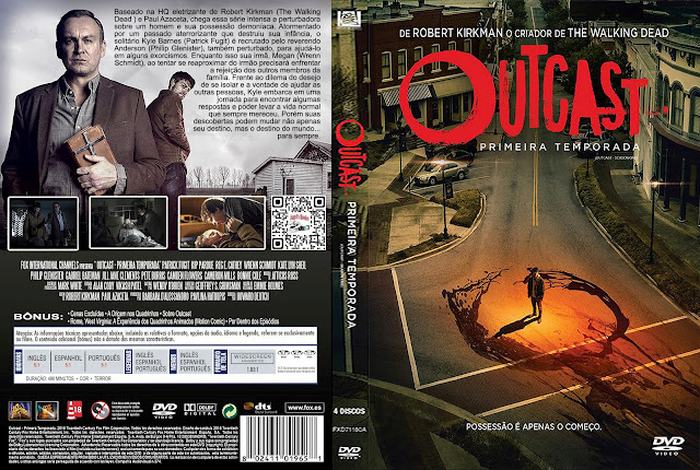 Capa DVD Outcast Primeira Temporada [Exclusiva]