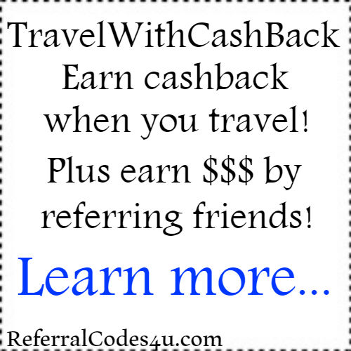 Travelwithcashback.com - Earn cashback for your flight, car rental, hotel or vacation package!