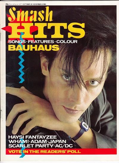 Peter Murphy Bauhaus - 80s hair