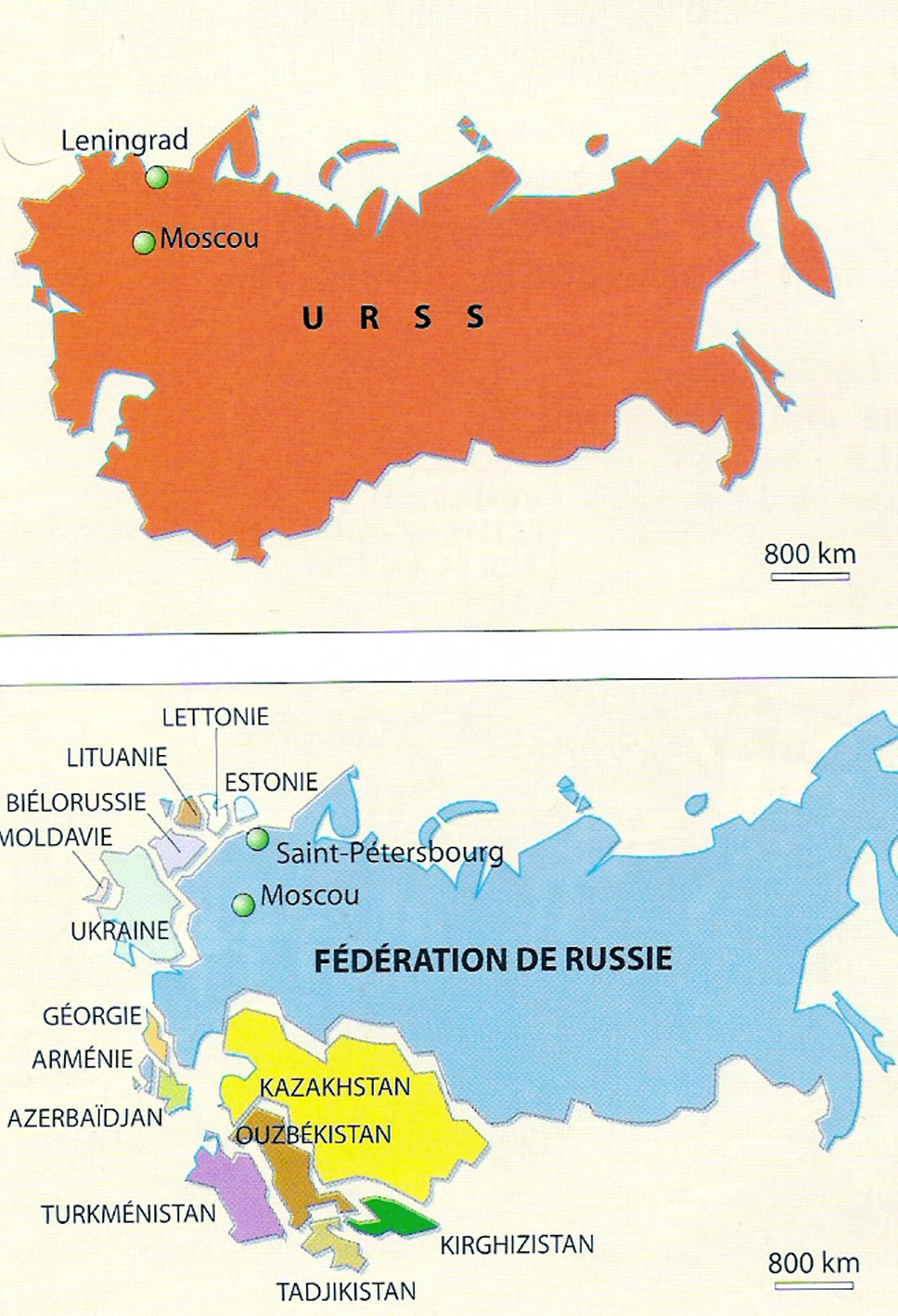 Cartina Urss.Esabac Terminale Geografia La Russia Stato Continente In Ricomposizione Documenti