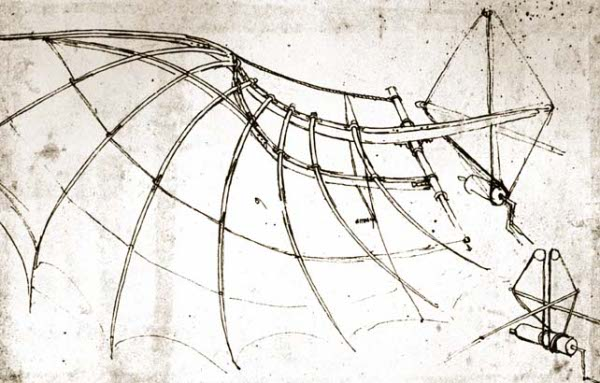 Leonardo Da Vinci Underwater Breathing Apparatus
