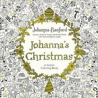as cores do natal johanna basford livro de colorir para sextante johanna's christmas lançamento novidade previa por dentro conheça uk reino unido importado importada gringa