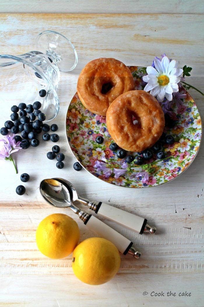 donuts, arandanos, limon, lemon, blueberries,