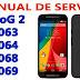 Manual de serviço Motorola Moto G2 XT1063 XT1064 XT1068 XT1069
