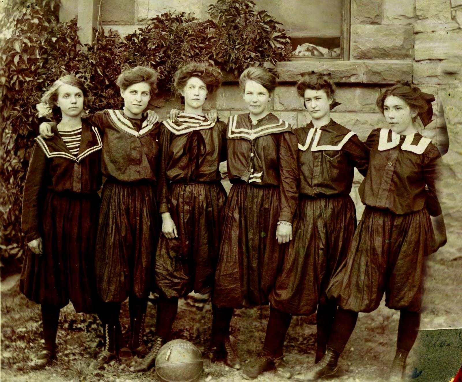 Payson Historical Society: Payson High School Girl's