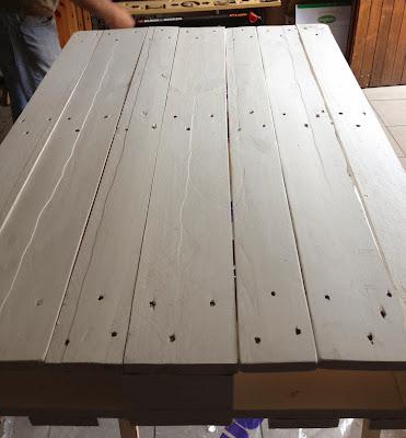 DIY TUTO table basse avec une palette de bois