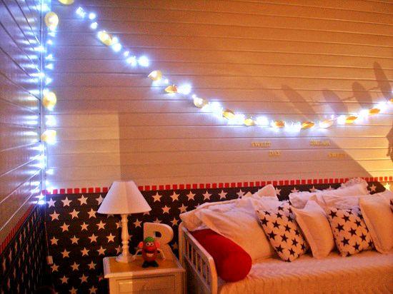 Luzes diferentes e criativas