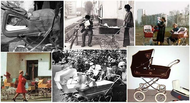 Детские коляски в СССР в 70-е – 80-е годы 20-го века