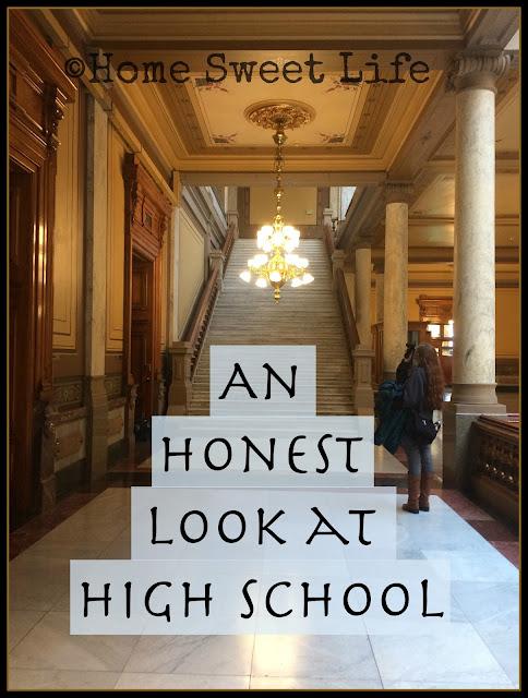 An Honest Look at High School, 5 Days of Homeschooling Blog Hop