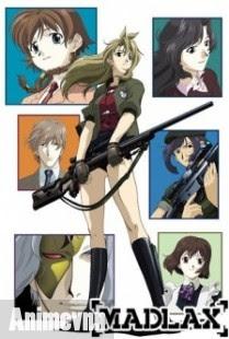 Lính Đánh Thuê Madlax - Anime Madlax 2012 Poster
