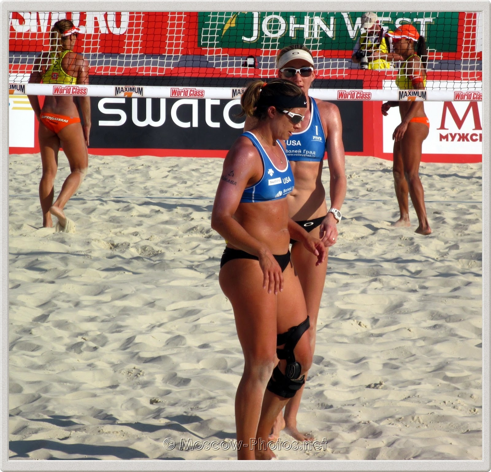 Misty May-Treanor & Kerri Walsh. Beach Volleyball 2011.