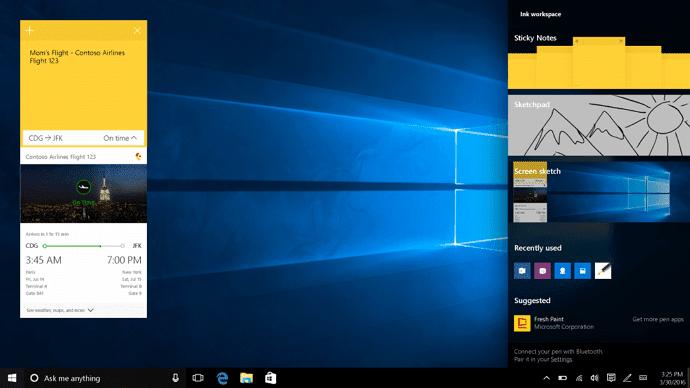 Yang Baru di Windows 10 Anniversary Update 3