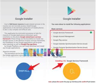 aplikasi google installer