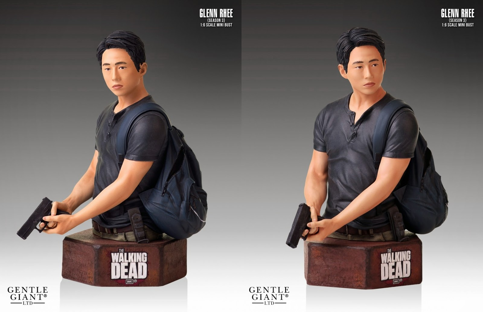 The Walking Dead TV Series Glenn Mini Bust (Gentle Giant)