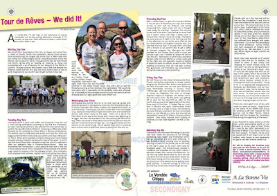 Cycling France French Village Diaries Deux-Sèvres tour de rêves