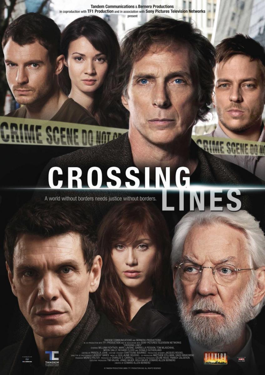 Crossing Lines: 1ª Temporada Completa – Legendado