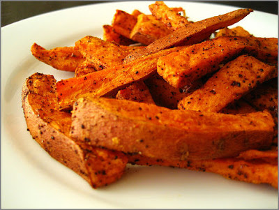 Rosemary Sweet Potato Wedges