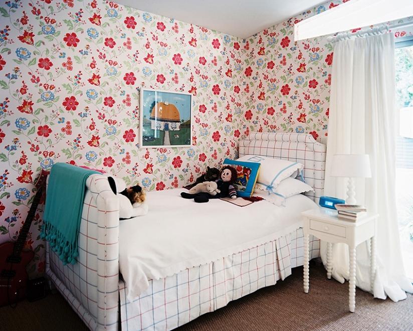 Ide Motif Wallpaper Dinding Kamar Dinding Anak Cewek